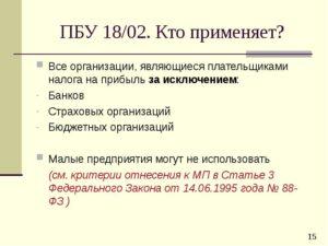ПБУ 18/02 – последняя редакция 2021