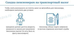 Скидки пенсионерам на транспортный налог в москве