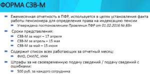 Штраф за невовремя сданный отчет в ПФР