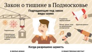 Закон о шуме в московской области