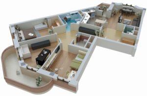 Узаконить перепланировку квартиры стоимость московская область