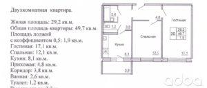 Какая площадь в квартире считается жилой