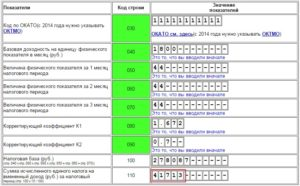 Коэффициенты К1 и К2 для ЕНВД на 2021 год
