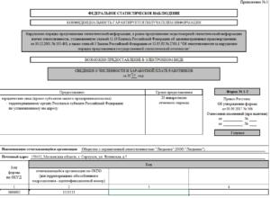 Форма 1-Т (Проф): бланк и образец заполнения