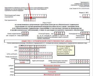 Код подчиненности в ФСС в 2021 году