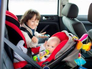 Штраф за езду без детского автокресла