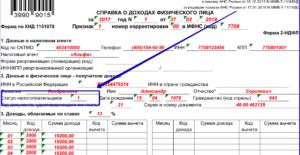 Статус налогоплательщика в 2-НДФЛ