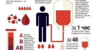 Сколько платят донору за сдачу крови в 2019 году