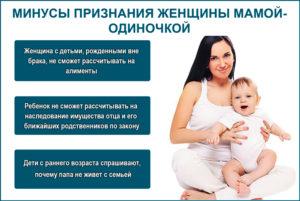 Что положено от государства матери одиночке с двумя детьми