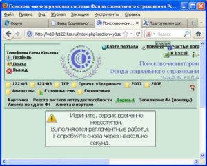 Поисково-мониторинговая система ФСС