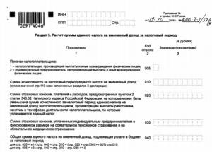 Штраф за декларацию ЕНВД 2016 и 2017