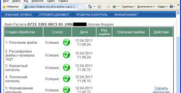 Шлюз ФСС отправки реестров – проверка и контроль